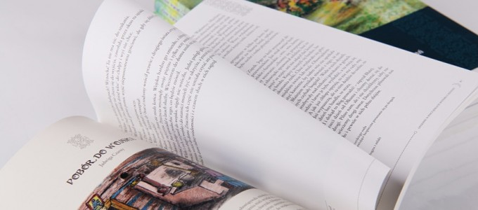 Książki, typografia